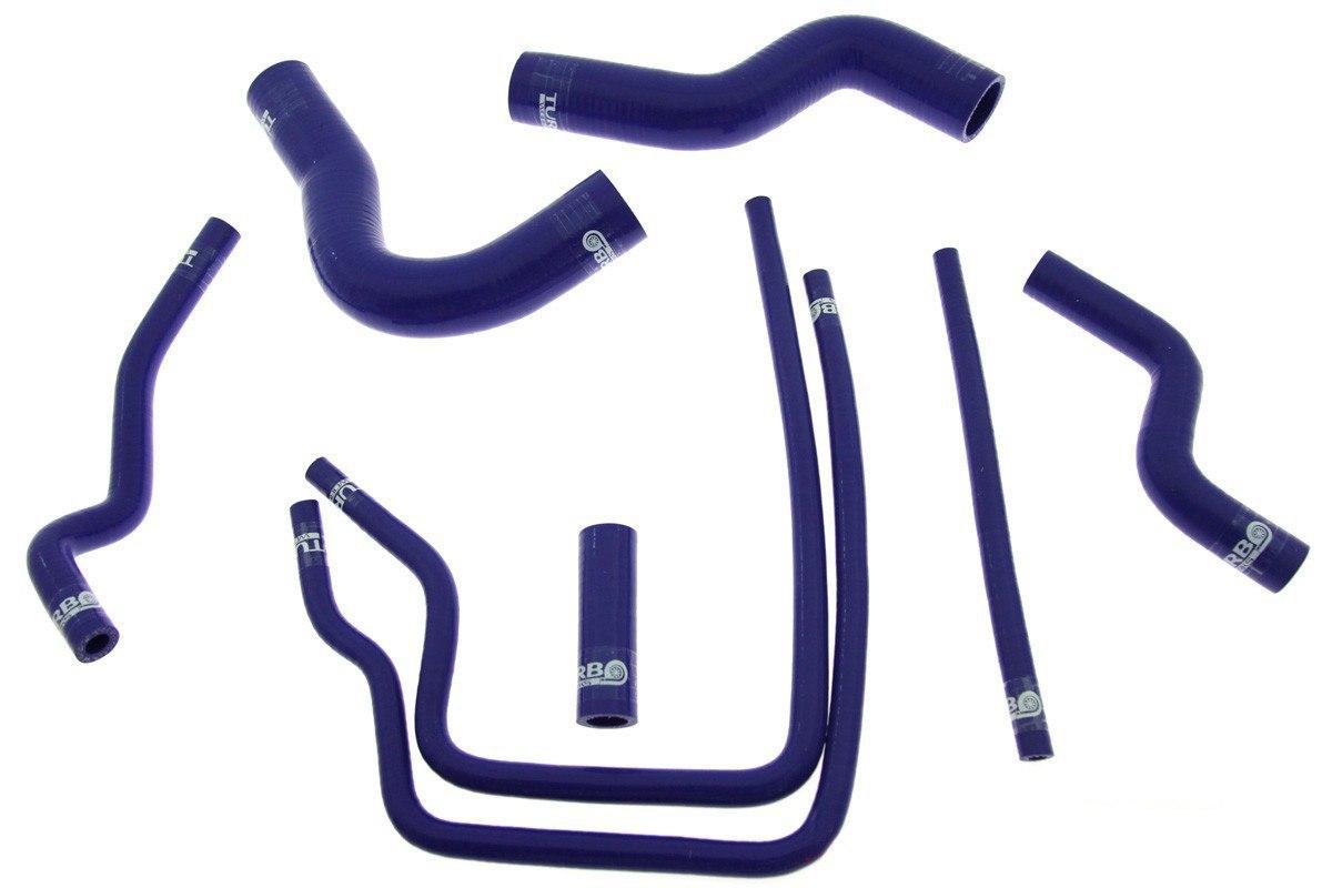 Przewody Silikonowe Subaru Impreza WRX STI GT GC8 EJ20 97-01 TurboWorks Woda - GRUBYGARAGE - Sklep Tuningowy